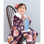 着物 「KYOETSU/キョウエツ」着物セット 七五三用 3歳用 被布セット 華やかB 9点セット (無地被布、柄着物、伊達衿、長襦袢、髪飾り、巾着、