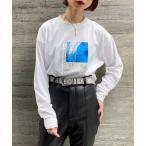 tシャツ Tシャツ レコードグラフィックロンTシャツ /プリントロンT