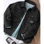 ジャケット ブルゾン Kappa/カッパ 別注 オーバーサイズ ロゴ刺繍 メルトン テックウール CPOブルゾン