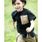 tシャツ Tシャツ 【100-160cm】【KELTY/ケルティ】デザイン別注 デザインポケットTシャツ