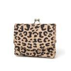 財布 オリジナルロゴがま口ミニウォレット