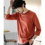 tシャツ Tシャツ 《WEB限定》7COLORS ミックスニット7分袖