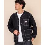 ジャケット カバーオール SMITH'S別注ダックノーカラーカバーオールジャケット(その他⇒WEB限定カラー)#