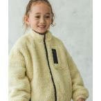 ジャケット ブルゾン 【ママとおそろい】 ユニセックスボリューム袖ボアブルゾン