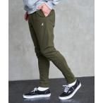 パンツ Loungewear tokyo×KANGOL/カンゴール ストレッチスキニージョガーパンツ ポンチ素材 無地&サイドライン