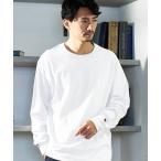 tシャツ Tシャツ Champion Authentic T-SHIRTS/ チャンピオン オーバーサイズ クルーネック長袖 Tシャツ
