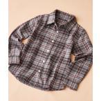 シャツ ブラウス SHISKY/シスキー チェック ネルシャツ