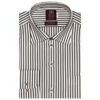 形態安定ノーアイロン ワイド 長袖ビジネスワイシャツ