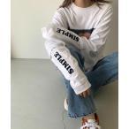 """tシャツ Tシャツ 1975 TOKYO(1975 トーキョー) """"SIMPLE""""ロゴロングTシャツ"""