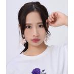 ピアス 【Ayler】RADIO EVA ラジオエヴァ ヱヴァンゲリヲンコラボ  ピアス  2個セット NERV Fig Leaf Earrings