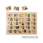 おもちゃ トーマス木製パズル ABCであそぼう!