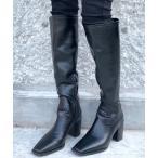 ブーツ 【SHAGGIE】ウエスタンロングブーツ