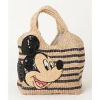 バッグ カゴバッグ かごバッグ【Disneyコラボ】