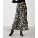 スカート LEOPARD PATTERN NARROW SKIRT/レオパードパターンナロースカート