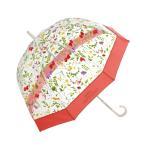 傘 plantica×Wpc. フラワーアンブレラプラスティック(ビニール傘)