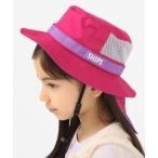 帽子 ハット SHIPS KIDS:<UVカット・撥水>サファリ ハット