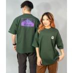 tシャツ Tシャツ columbia/コロンビア  ビッグシルエット  バックプリントTシャツ   PM0270