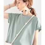 tシャツ Tシャツ 綿100%、さらり滑らか。シンプルフレンチトップス