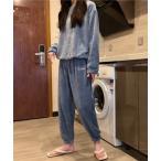 ルームウェア パジャマ レディース パジャマ ルームウェア 上下セット 柄 長袖 起毛 ボア 肌心地 部屋着 ワンマイル