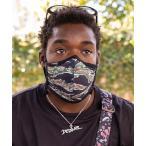 【NIXON/ニクソン】Flipside Face Mask マスク カモフラージュ/無地/花柄 使用していない時は首かけ可能 リバーシブル
