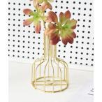 花瓶 シンプルゴールド花瓶