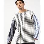 tシャツ Tシャツ MONT KEMMEL/モンケメル 別注ボーダー ロング スリーブ Tシャツ