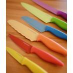 キッチン VIDA/ノンスティック コーティング ナイフ カラー6個セット/包丁 ナイフ 包丁セット 6本セット