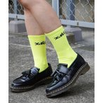 靴下 LOGO 2P MIDDLE SOCKS