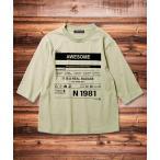 tシャツ Tシャツ 7分袖 プリント クルーネック Tシャツ カットソー キッズ