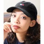 帽子 キャップ 【TOMMY HILFIGER/トミーヒルフィガー】ワンポイント刺繍コットンベースボールキャップ