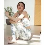 チューブトップ 【emmi yoga】ONLINE限定リトルフラワーブラトップ&レギンスSET