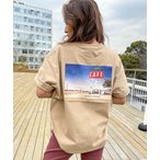 tシャツ Tシャツ 【ZOZO限定アイテム】BACK PHOTO TEE/ロキシーバックプリント半袖フォトTシャツ