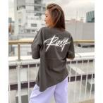 tシャツ Tシャツ 【ZOZO限定アイテム】BACK LOGO TEE/ロキシーバックプリント半袖ロゴサイドスリットTシャツ