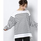 tシャツ Tシャツ BARNYARDSTORM / Le minor ルミノア/ボーダープルオーバー