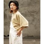tシャツ Tシャツ 【WEB限定】【別注】【PIKO】古着風 指ハートガール イージーケア 高密度ビッグシルエットイラストTシャツ【ユニセックス】