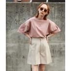tシャツ Tシャツ 【WEB限定】【別注】【PIKO】 古着風 トロピカル ガール イージーケア 高密度ビッグシルエット アニメチックイラストTシャツ