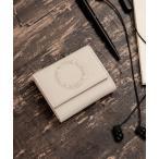 財布 三つ折りミニサイフ ボックスコイン型[コルク]