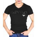 tシャツ Tシャツ EMPORIO ARMANI エンポリオ アルマーニ / EAGLE STRETCH COTTON メンズ Vネック 半袖 Tシャ
