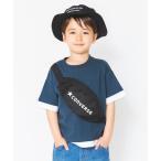 tシャツ Tシャツ 【CONVERSE/コンバース】ボディバッグ付き半袖Tシャツ