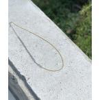 ネックレス シルバー×ゴールドMIXネックレス
