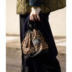 ショルダーバッグ バッグ GREGORY/グレゴリー 型止CINCH BAG M/型止めシンチバッグMサイズ(レオパード柄巾着バッグ)