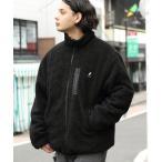 ジャケット ブルゾン 8(eight)×KANGOL 別注ボアブルゾン