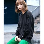 tシャツ Tシャツ Champion Authentic T-SHIRTS レディース チャンピオン スーパーオーバーサイズ コットン L/S Tシャ