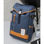 リュック 【 Bianchi / ビアンキ 】 撥水性ポリエステル フラップトップ ボックス型 バックパック / DUALTEX / DIBASE-N