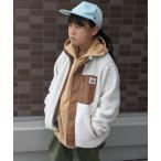 ジャケット ブルゾン Lee/リー キッズ シープボア スタンドカラージャケット