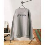 スウェット 【Snow Peak×relume / スノーピーク】 Classic ロゴプリント スウェット