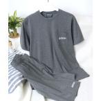 ルームウェア パジャマ OUTDOOR PRODUCTS◆Tシャツ×ハーフパンツ/2点セットアップ/ワンマイルウェア