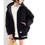 ジャケット ブルゾン 《JaVa ジャバコラボ》暖か大人カジュアル。裏地キルティングコットンジャケット