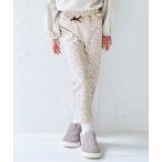 パンツ ウエストフリル/7days Style pants 10分丈