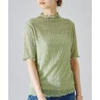 tシャツ Tシャツ シアーシャーリングトップス/AC1077